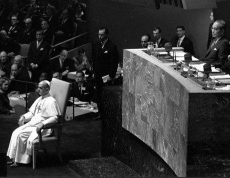 Pope Paul VI UN