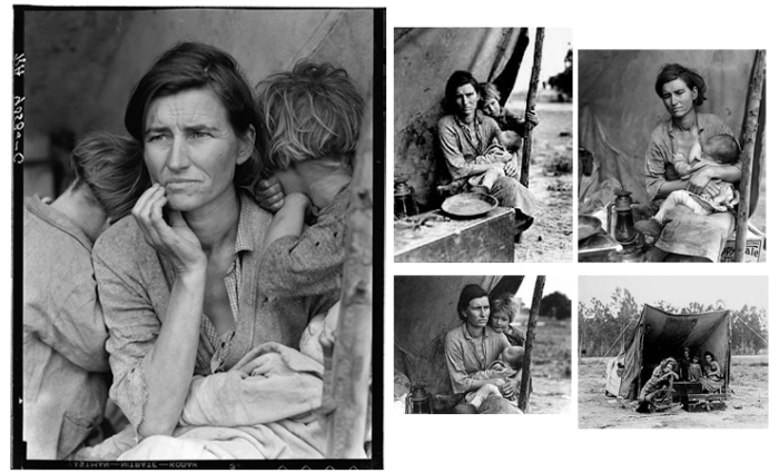 picture analysis migrant mothers photograph Exploring photographs information and questions for teaching human erosion  in california (migrant mother), dorothea lange human erosion in california.