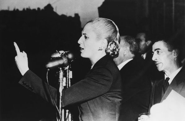 a biography of eva peron Kate jennings reviews eva peron, biography by alicie dujovne ortiz, and in my own words evita, attributed to eva peron (m).