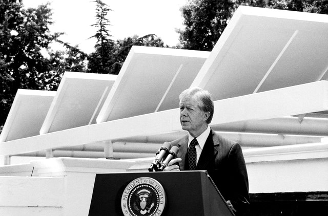 white house solar panels