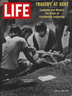 Life Magazine covers the Kent State Shootings