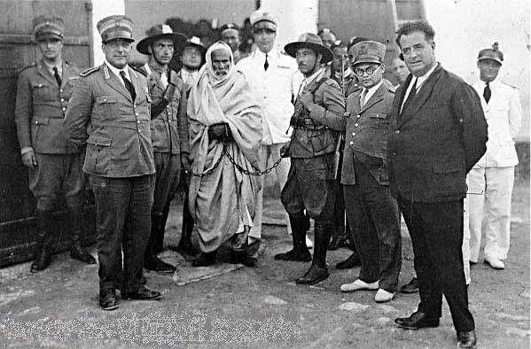 omar_mokhtar_arrested_by_italian_fascists
