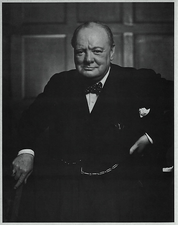 Image result for churchill, karsh