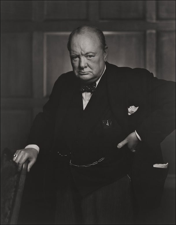 Yousuf Karsh Churchill photo