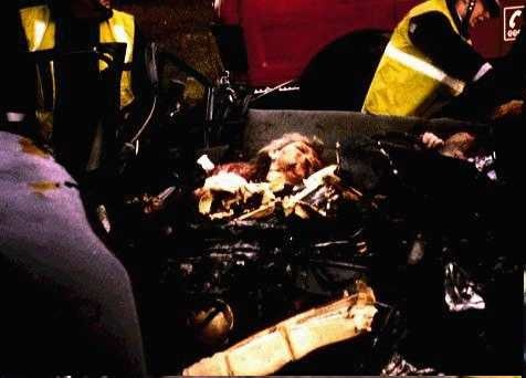 princess diana car crash photos. Princess Diana met her