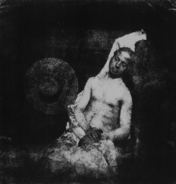 Hippolyte_Bayard_To_je_truplo_pokojnega_Bayarda_1840