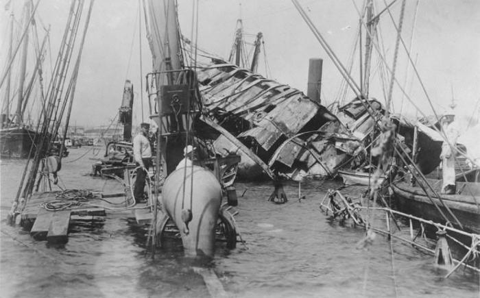 spanish american war the sinking of While it was  not the primary reason for america's declaration of war, it can be argued that it.
