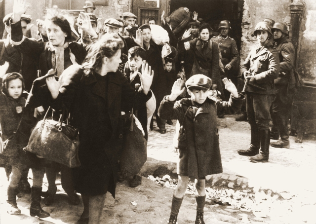 """Iconic Photos - """"Stroop Report - Warsaw Ghetto Uprising"""""""