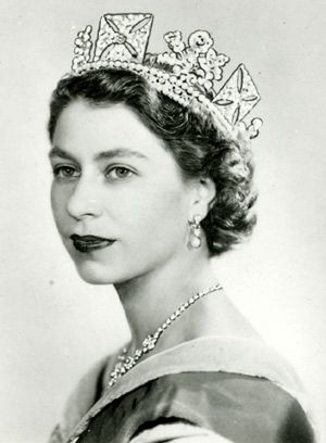 Shortly after queen elizabeth