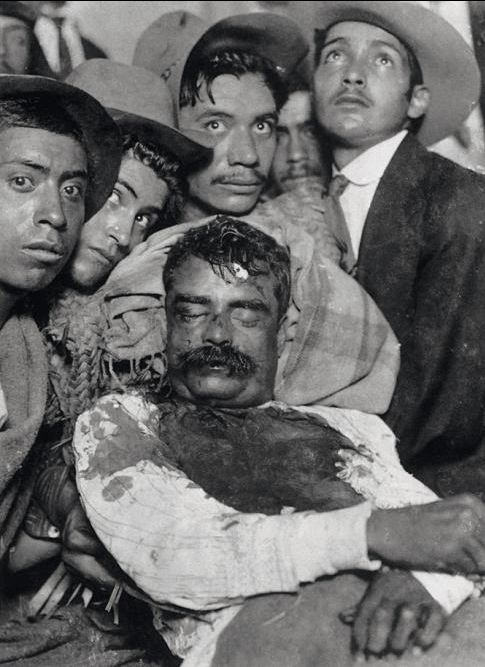 Death Of Zapata Iconic Photos