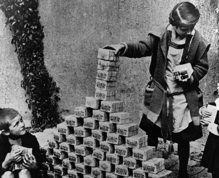 inflation and hyperinflation after world war 1 Taming hyperinflation: a perspective from a skeptic of monetarism  in countries in and just after world war i and world war ii, countries in south america in the.