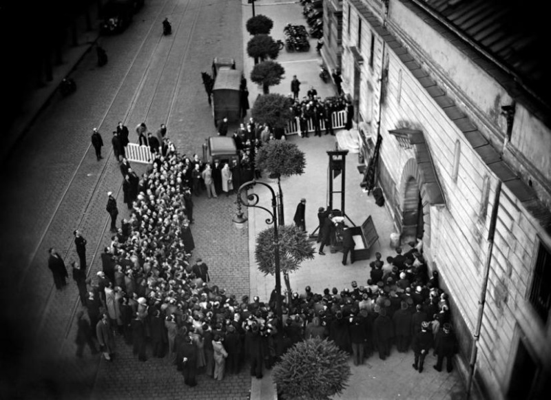 Last Public Execution by Guillotine