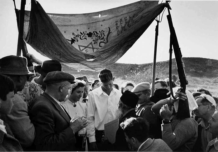 David Seymour (CHIM), Wedding, Israel.JPG
